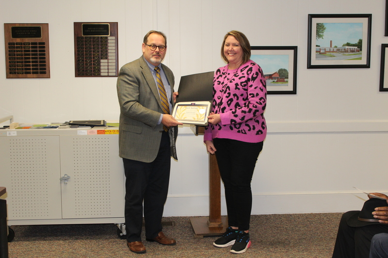 Stephanie Hendrix, JES: District I Outstanding Elementary Science Teacher of the Year Award