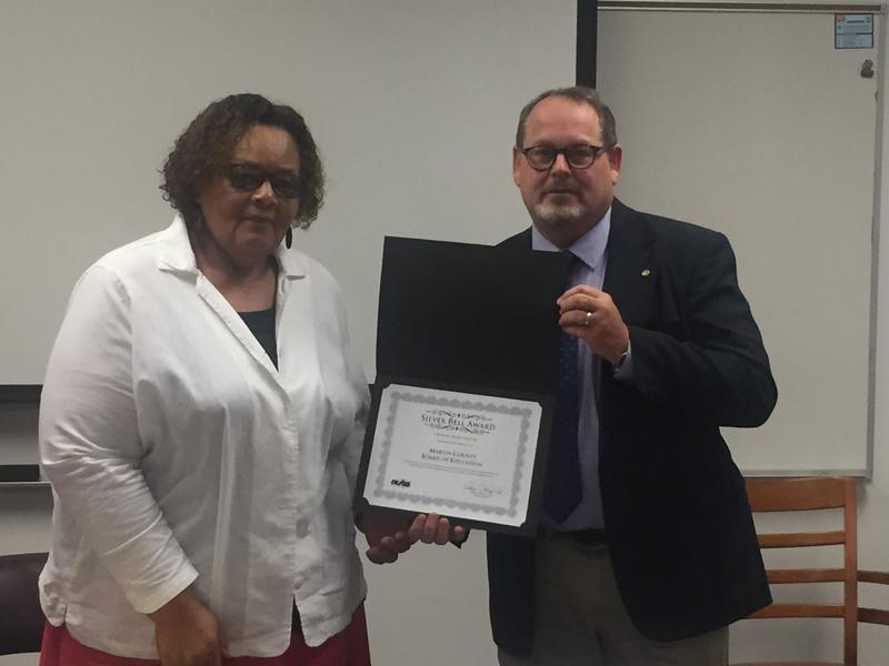 Board Members recognized for earning the Silver Bell Award