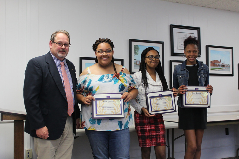 2nd Place eCybermission Competition Winners: Jailah Bryant, Ayanna Overton & Cassidy Patrick. South Creek Middle/High School