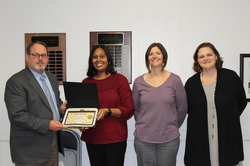 Camecia Spruill, Renee Wright & Jennifer Goodwin (JES): Highest Rated NC Star License Award