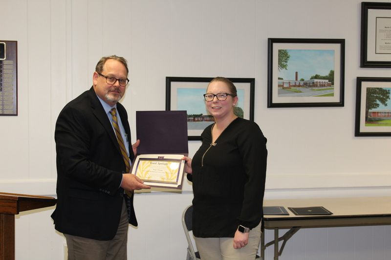 Maggie Belangia, SCMHS District I Outstanding Middle School Science Teacher of the Year Award