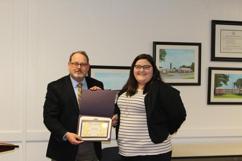 Sarah McPhillips, SCES Outstanding Elementary School Student Teaching Award