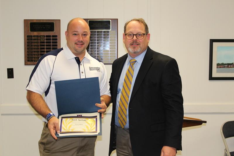 Leonard Allen, RHS Northeast Baseball Coach of the Year