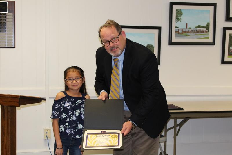 Alayna Hernandez, ROD Superintendent's Christmas Card Choice Award