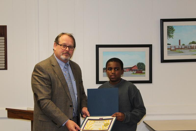 JaBrian Spruill, Service Award