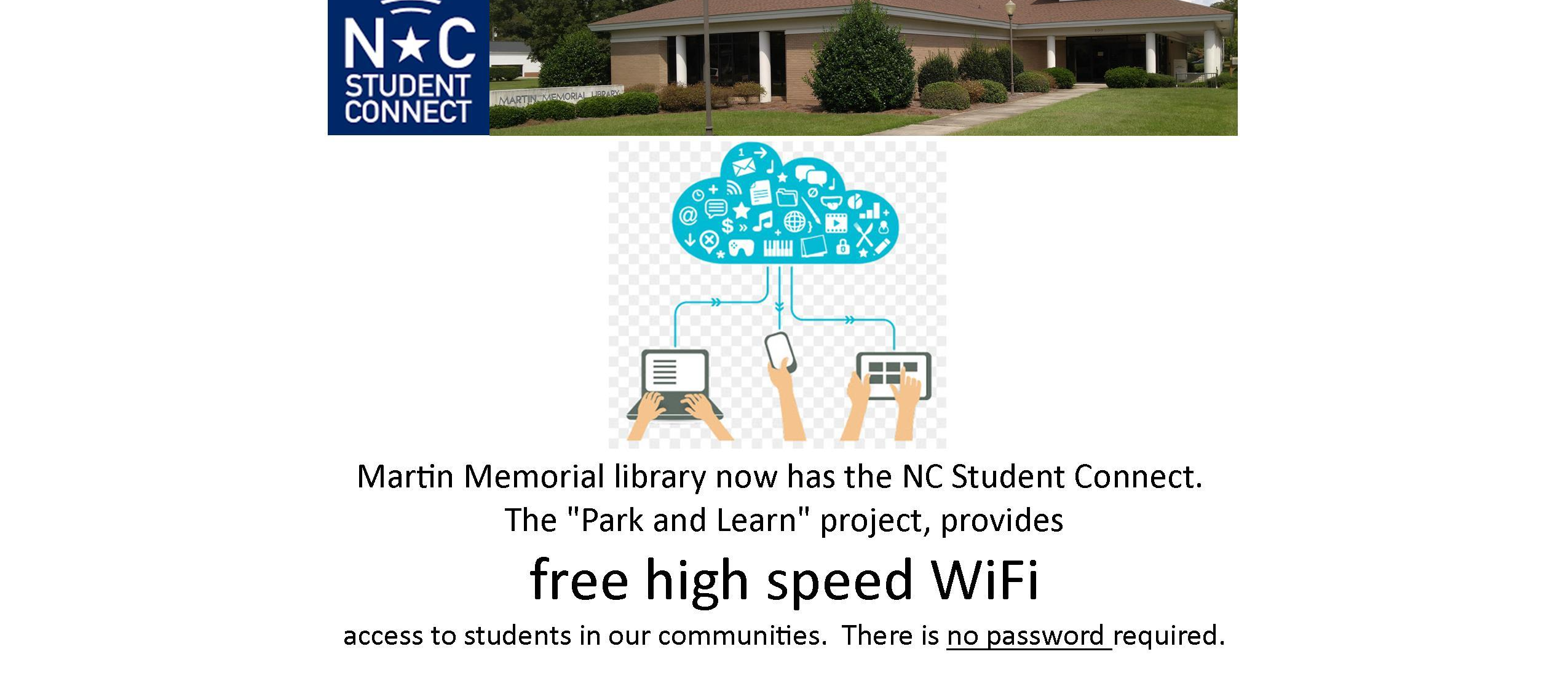 free wifi in library
