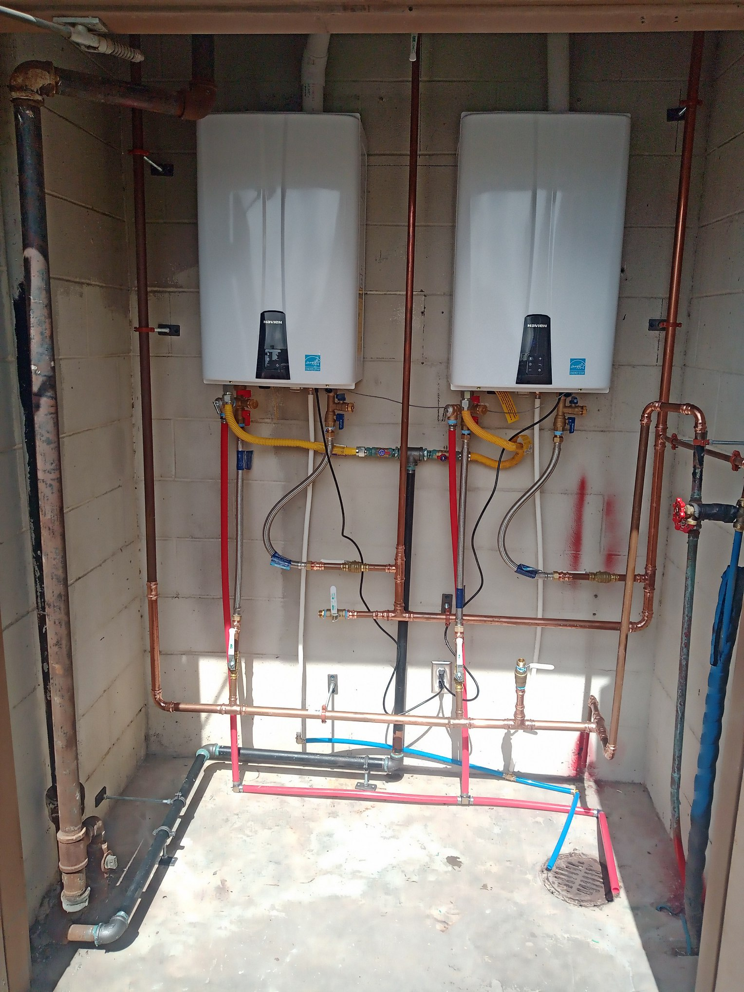 water heater change out