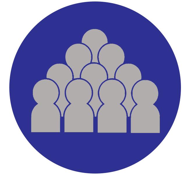 Overcrowding icon