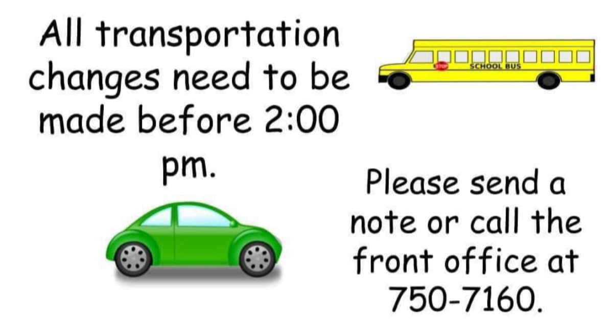 Transportation Changes