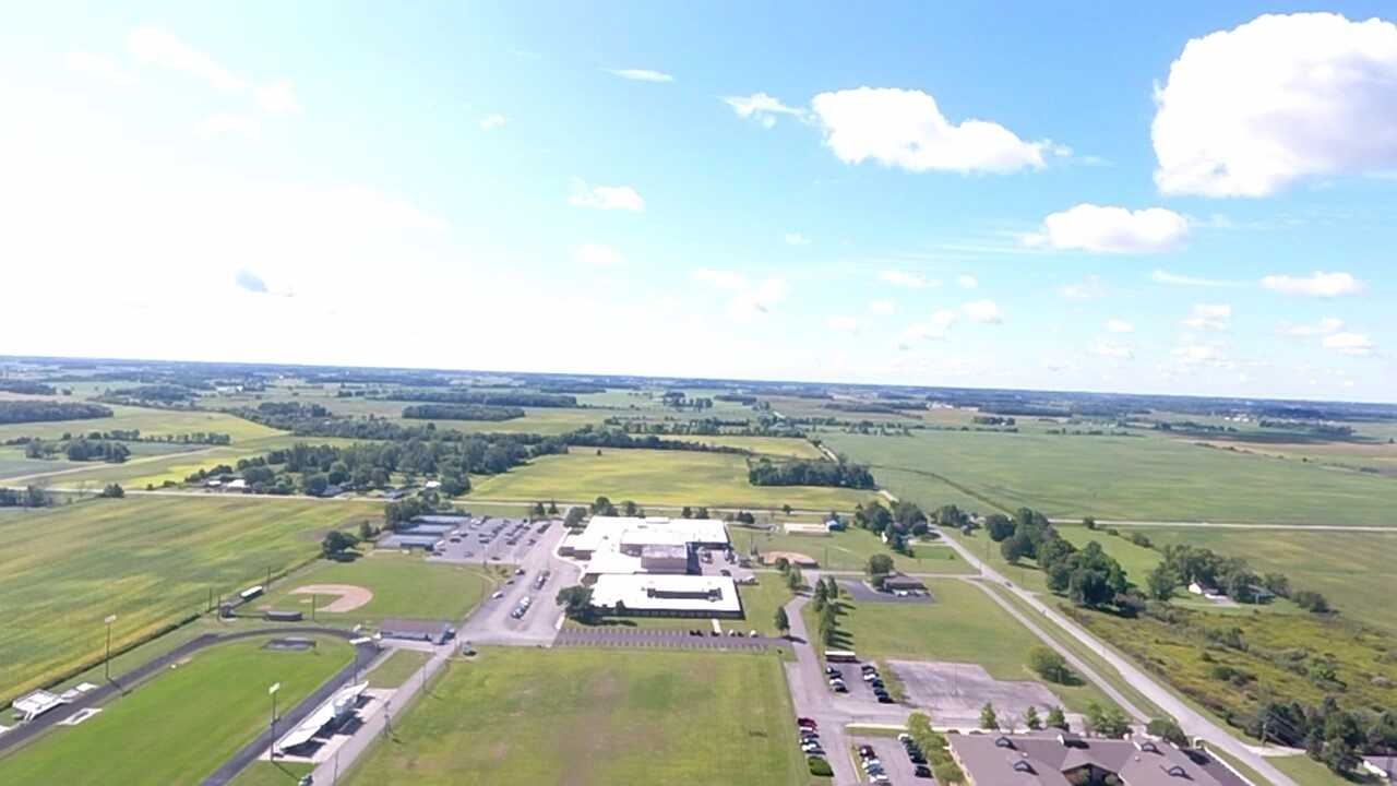 Aerial View Of Shenandoah School Corporation