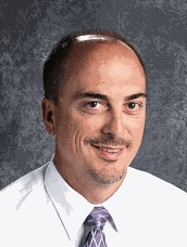 Photo of the High School's Principal, Mr. France