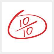 10/10 Ten Marks