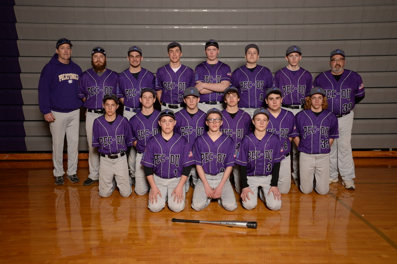 Photo of the 2018-2019 Fresh-Soph Baseball
