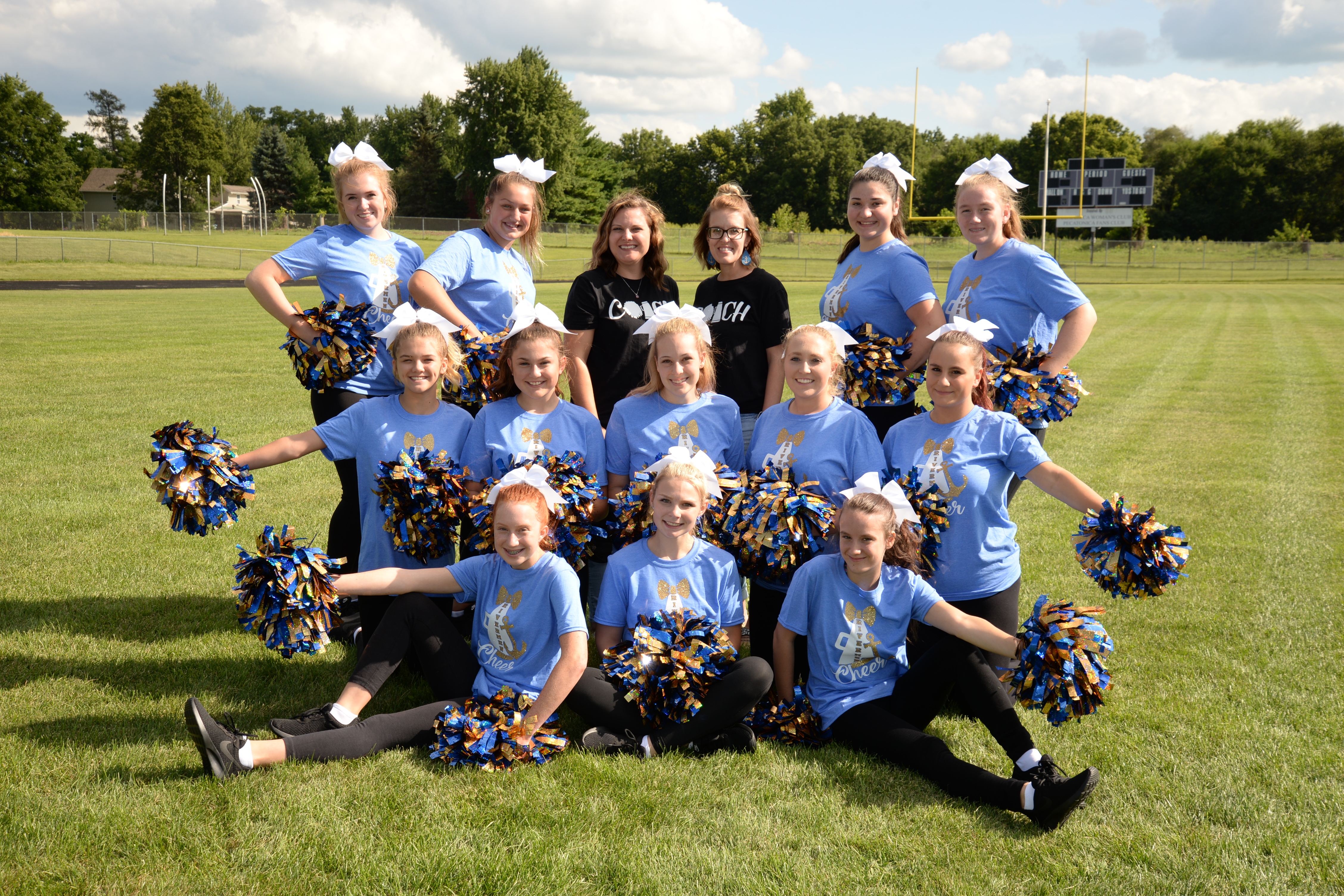 Photo of Fall Cheerleading Club 2019-2020