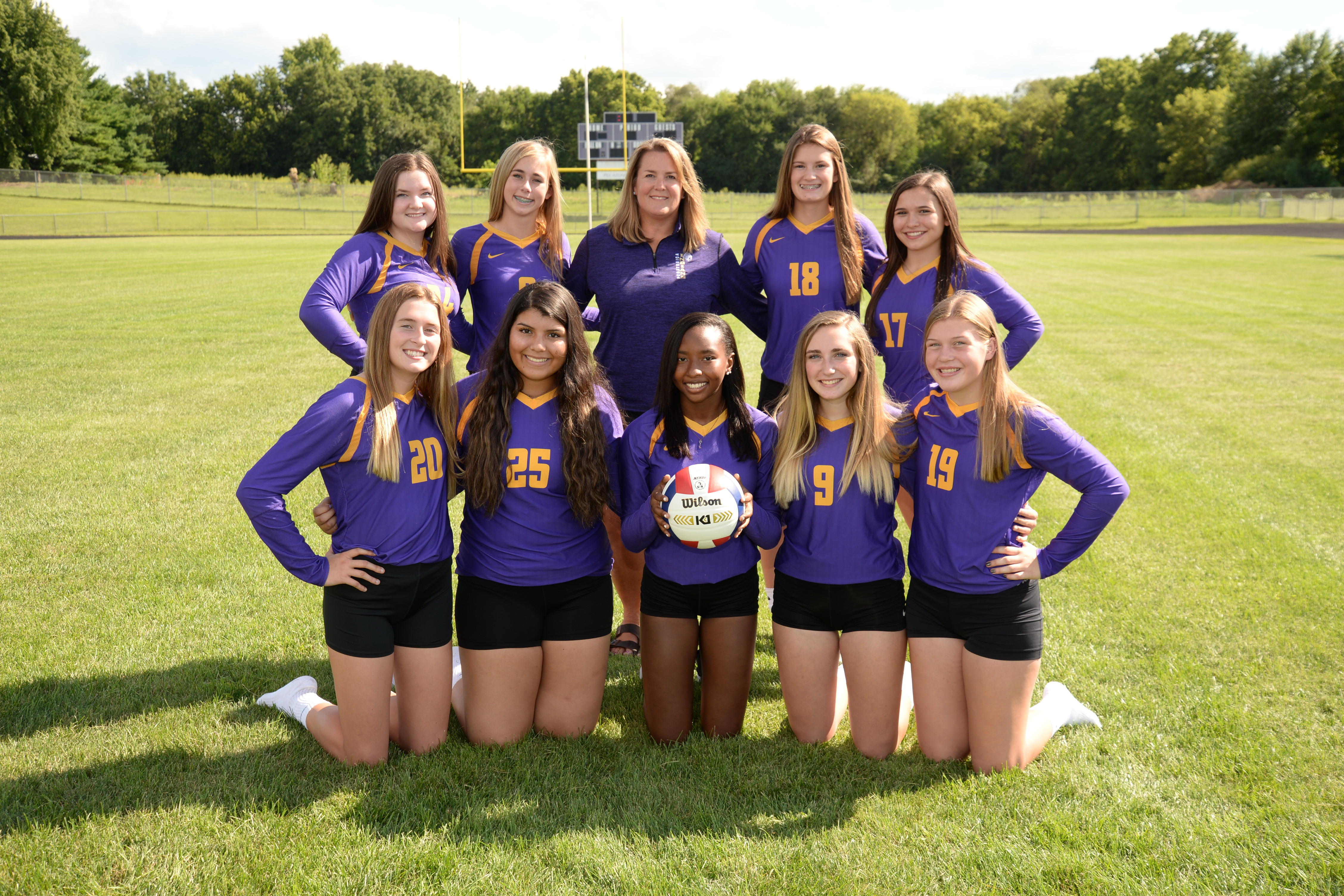 Photo of the Freshman Pecatonica Volleyball 2019-2020 Team