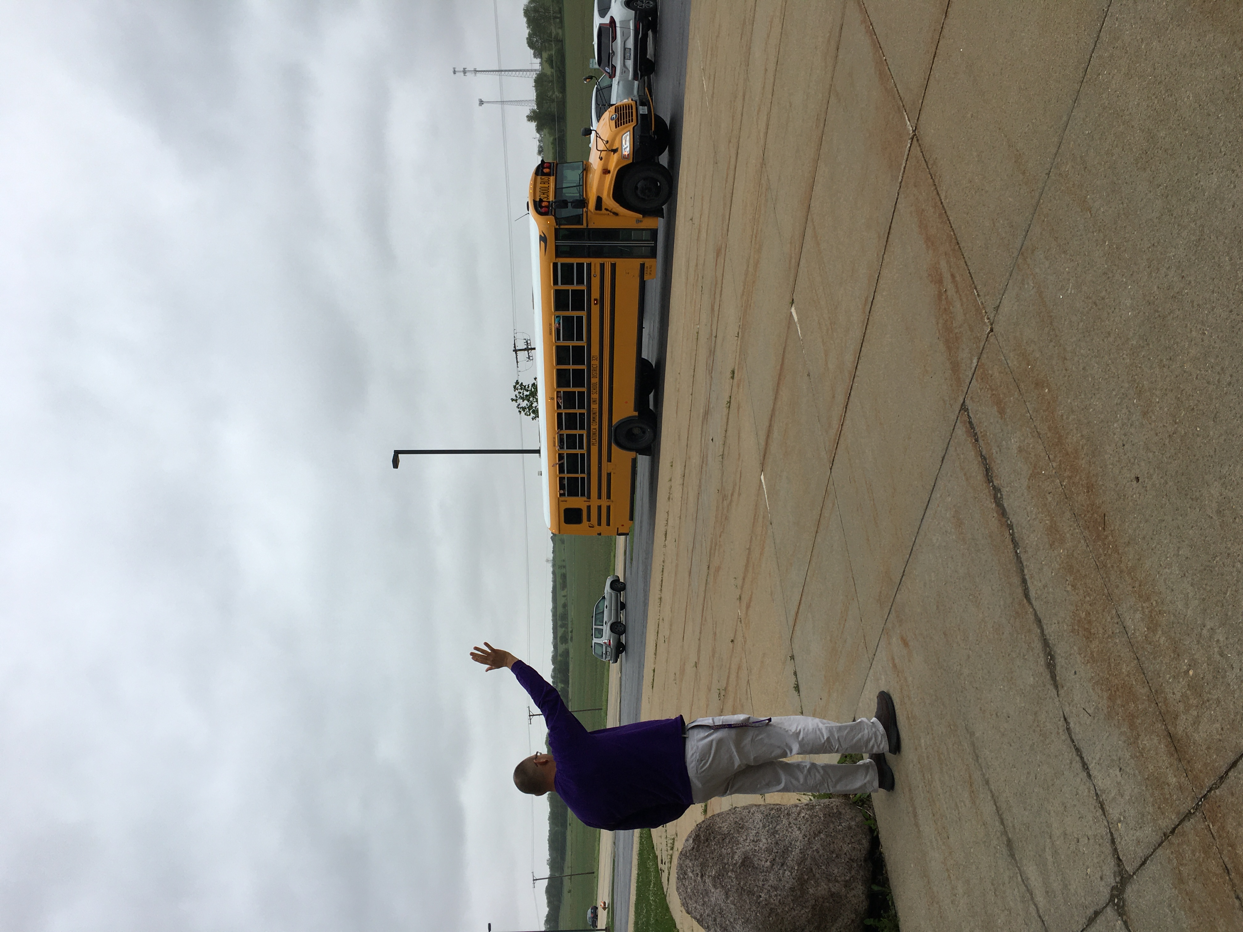 Goodbye Mr. Faller...from the bus kids