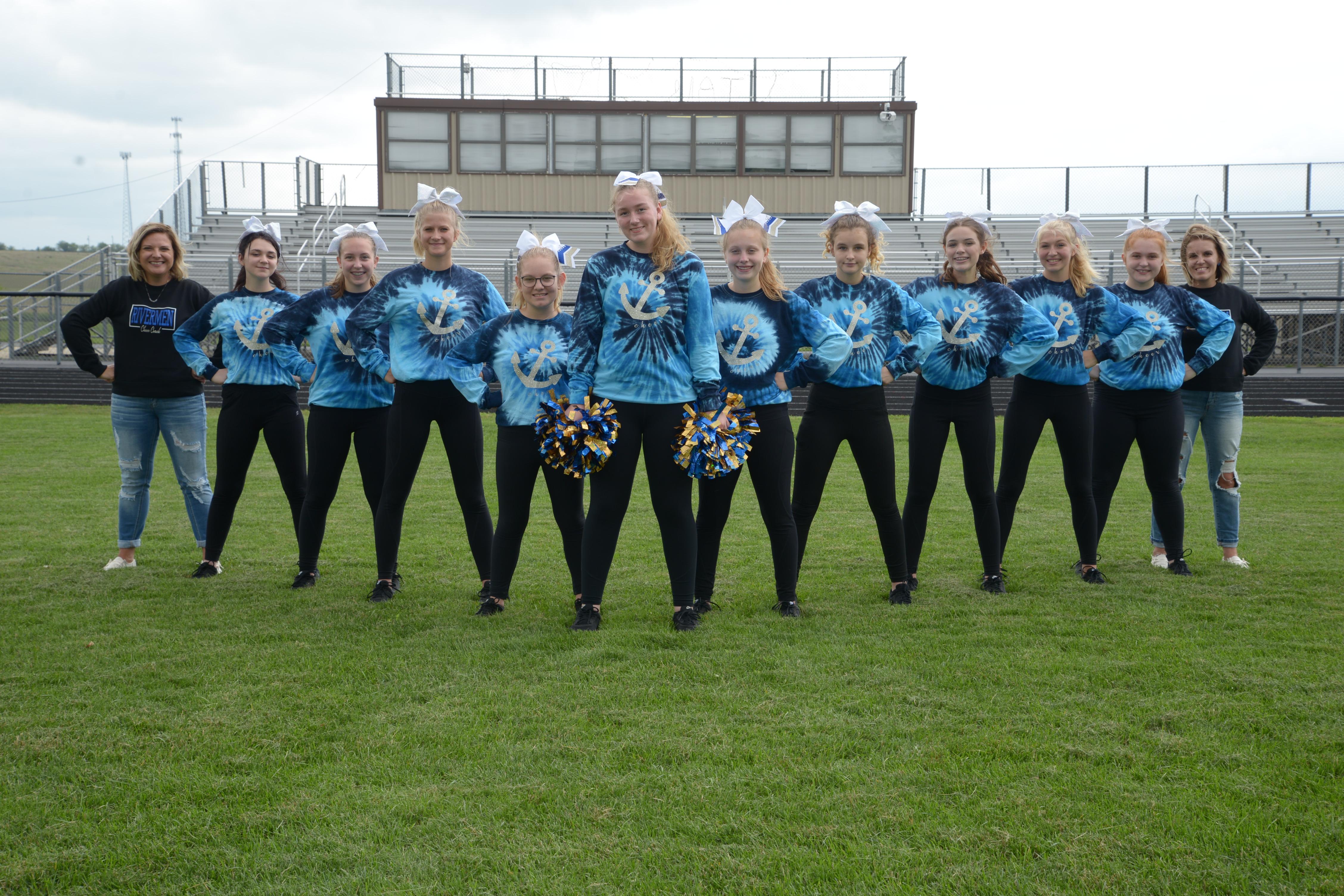 Photo of Fall Cheerleading Club 2021-2022