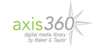 Axis 360, Logo of the digital media library created by Baker & Taylor