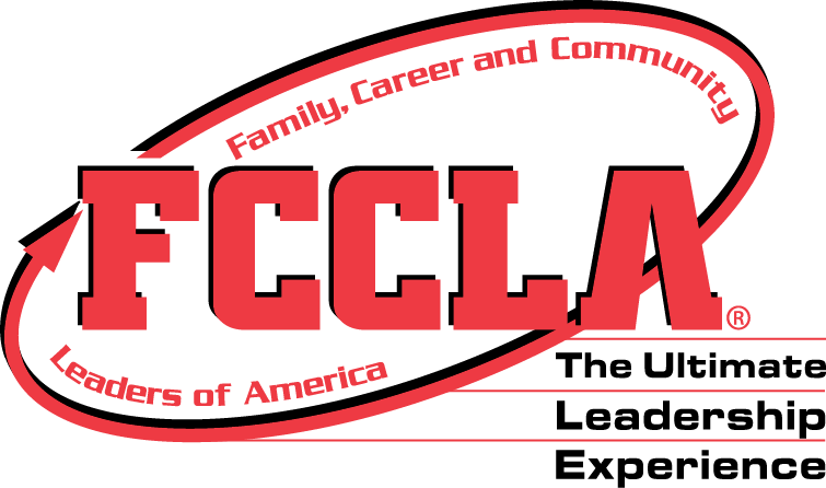 """Logo and Motto of the FCCLA group along with their slogan """"The Ultimate Leadership Experience"""""""