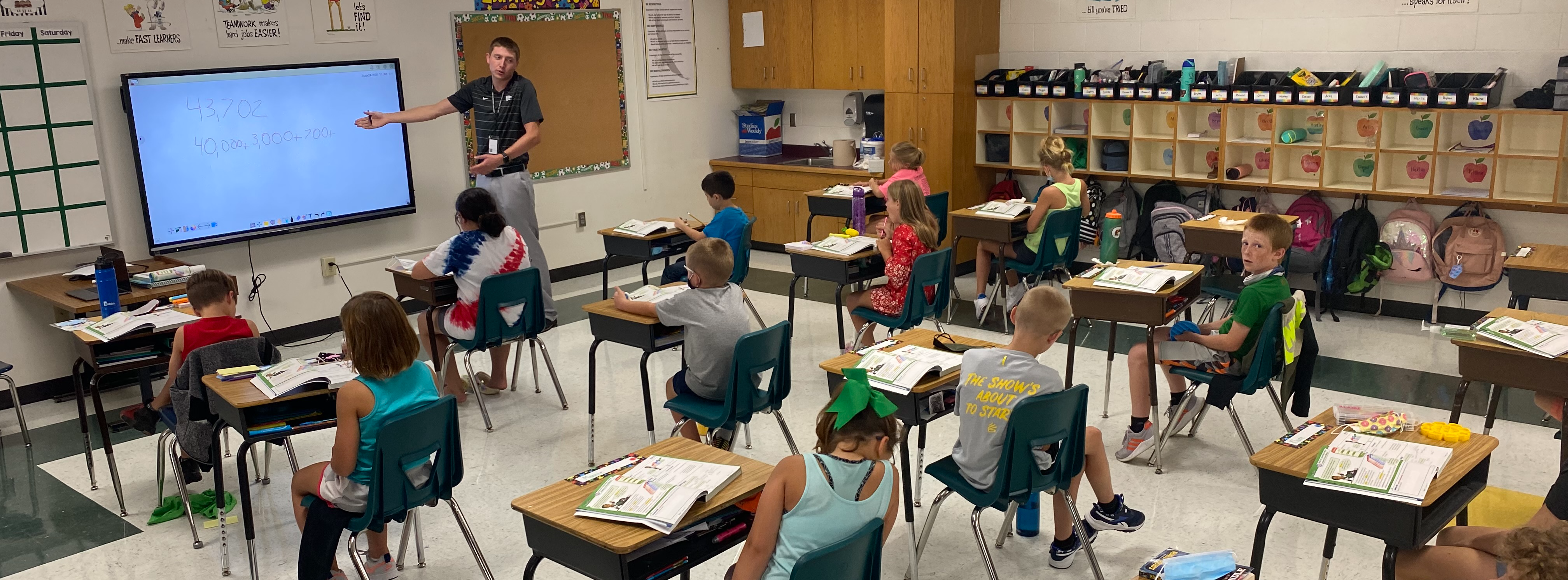 Back to School in Olpe Elementary