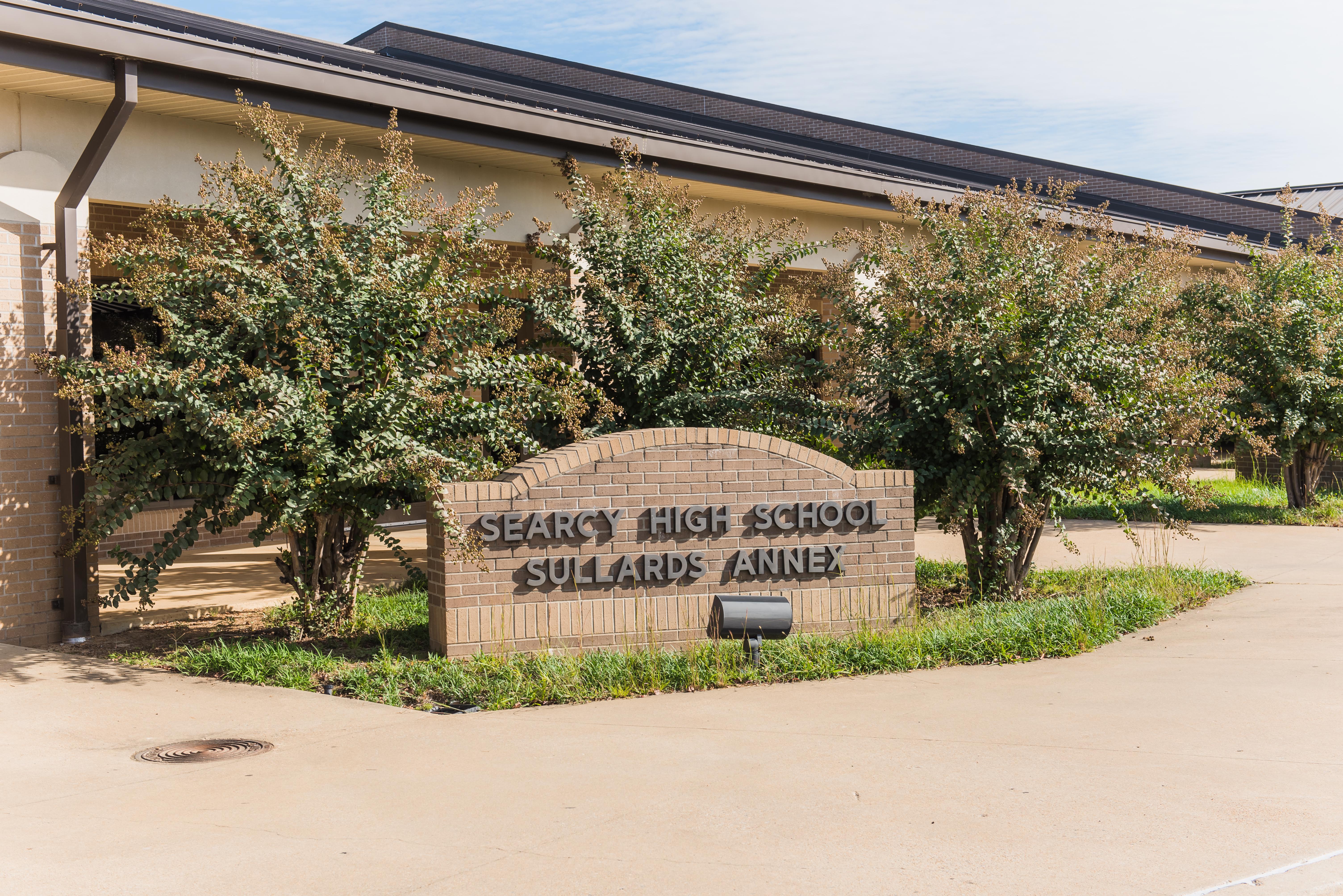 Searcy High School Sullards Annex sign