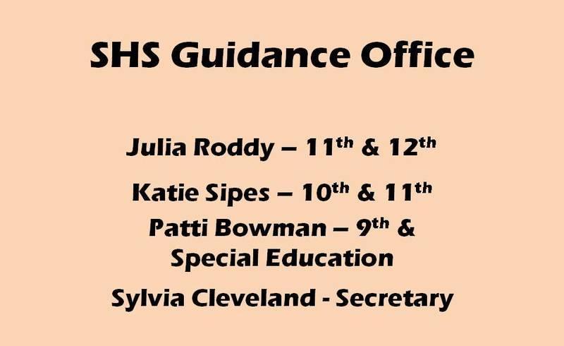 SHS Guidance Office