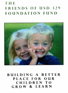 The Friends of USD 329 Foundation Fund. Building a Better Place for our children to grow and learn