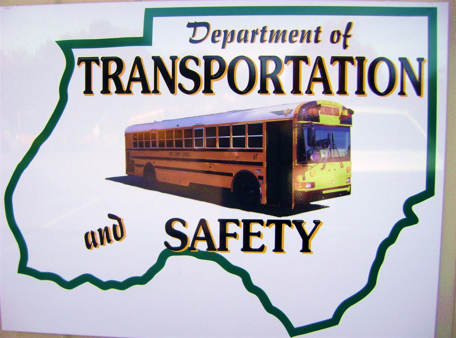 Department of Transportation and safety