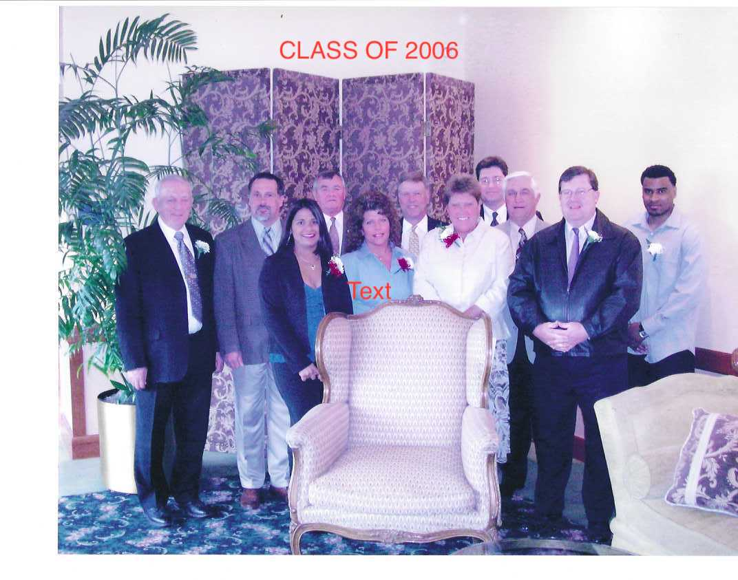 Photo of Class of 2006.