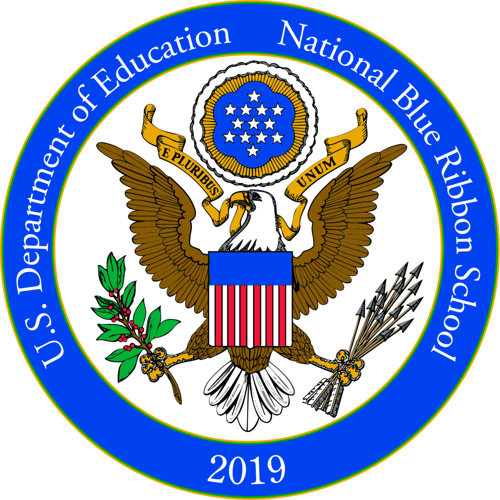 U.S. Department of Education National Blue Ribbon School 2019