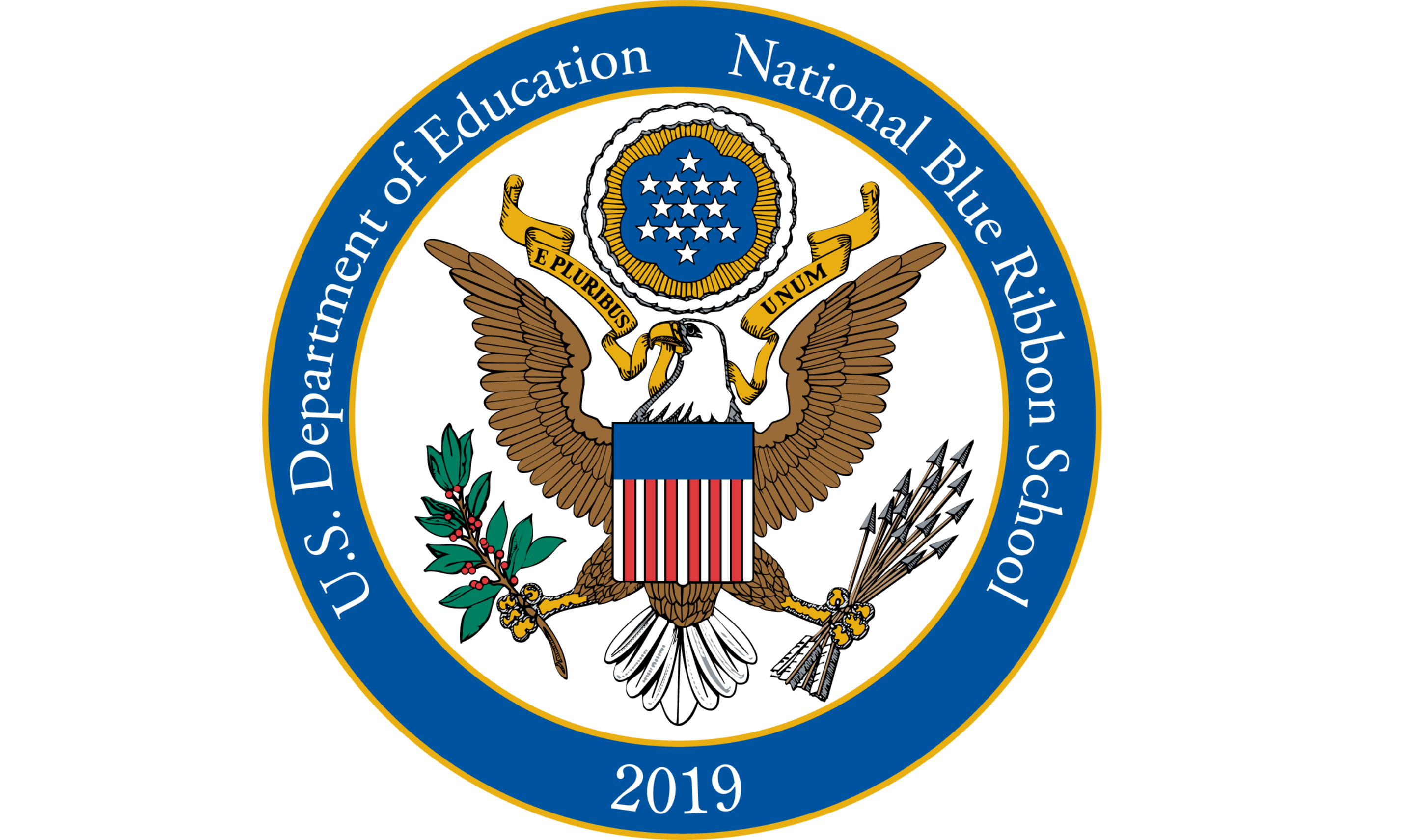 U.S. Department of Education National Blue Ribbon School 2019