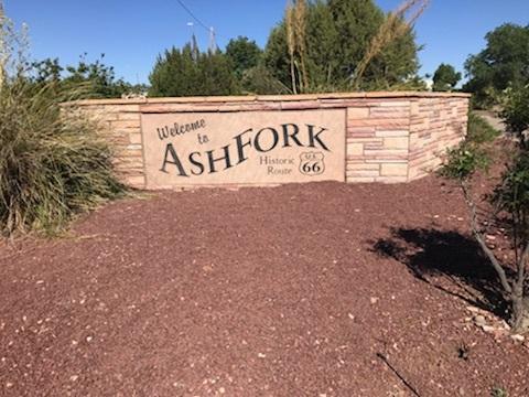 Ash Fork School sign