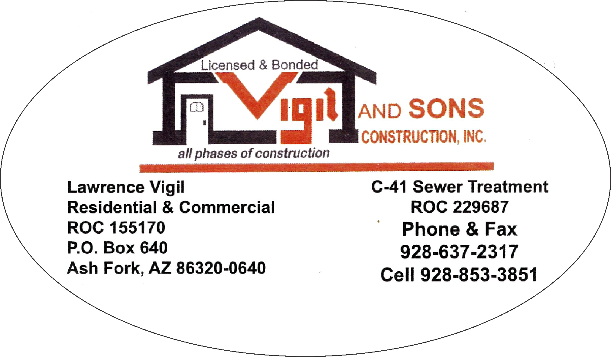 Vigil and Sons logo picture