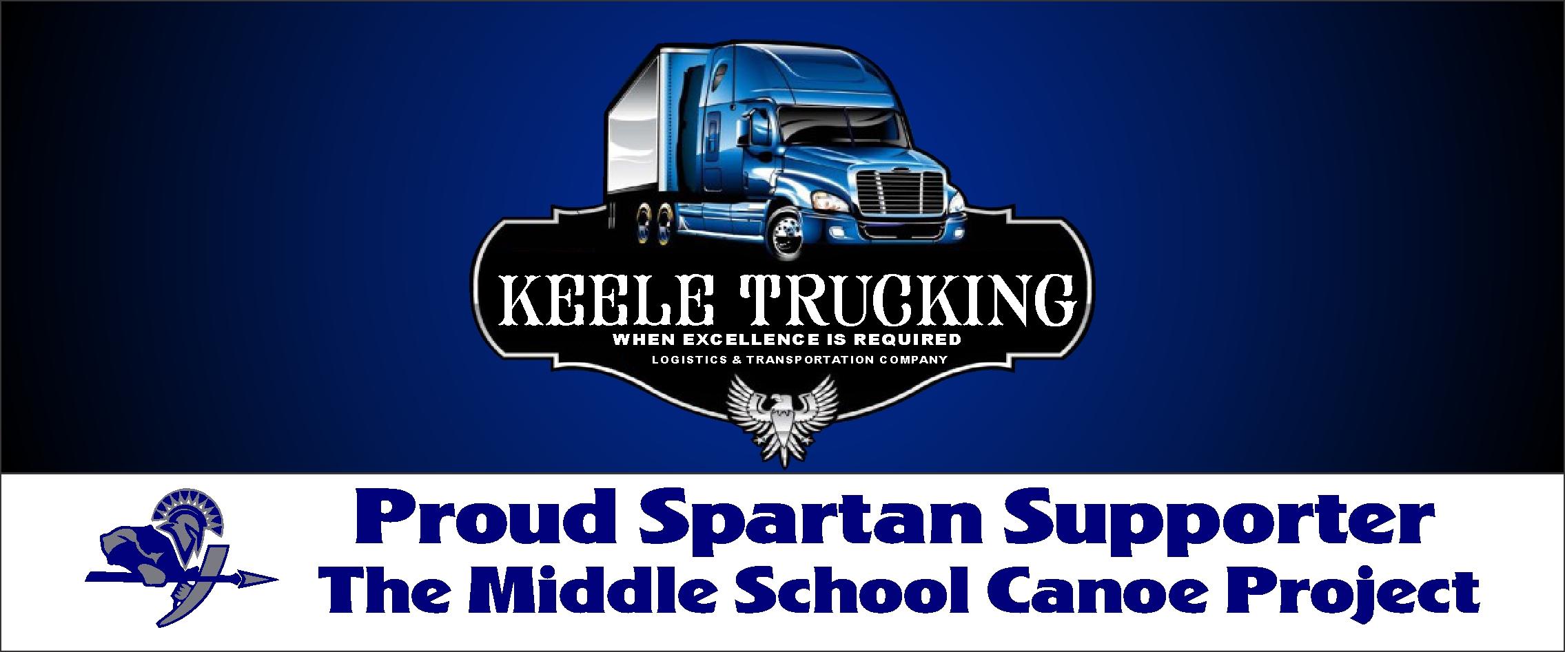 Keele Trucking logo picture