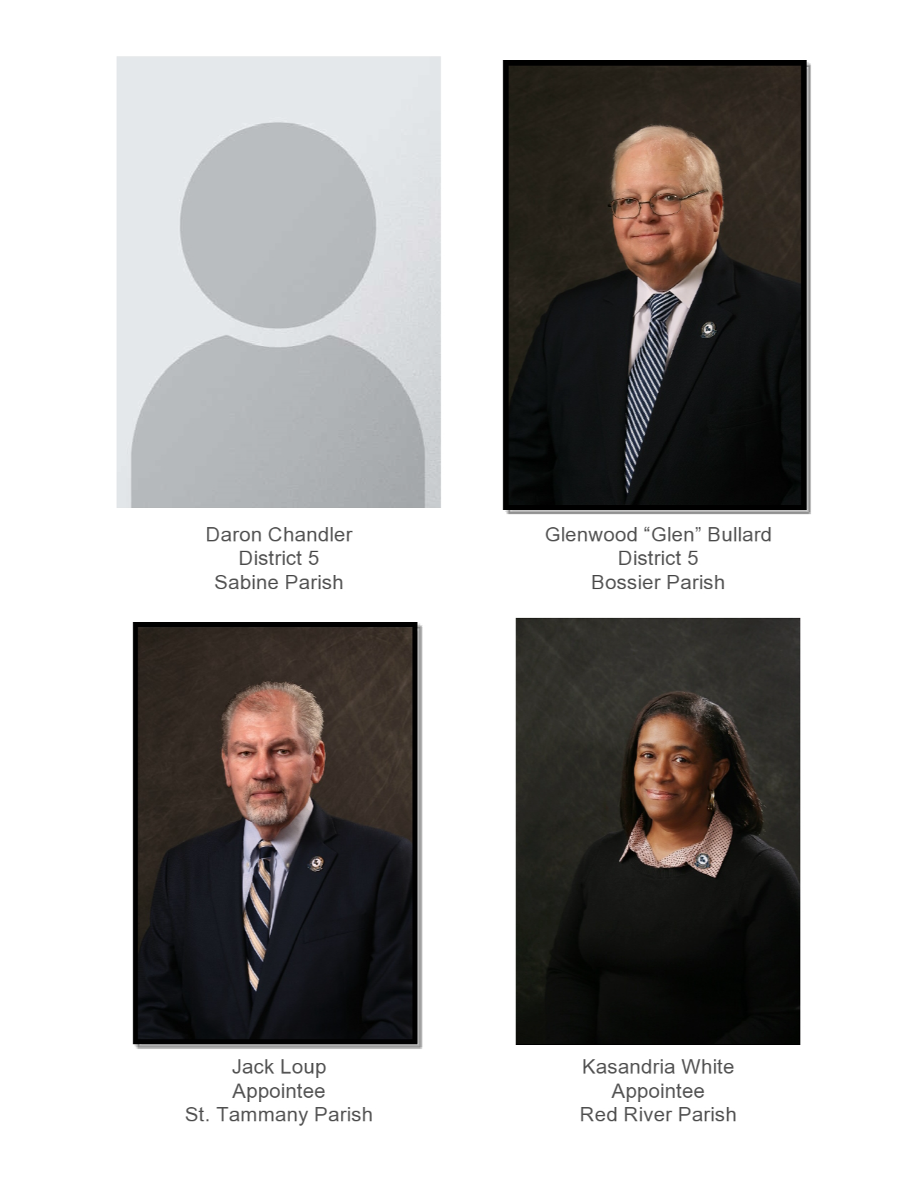 officers of the board