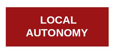 Local Autonomy
