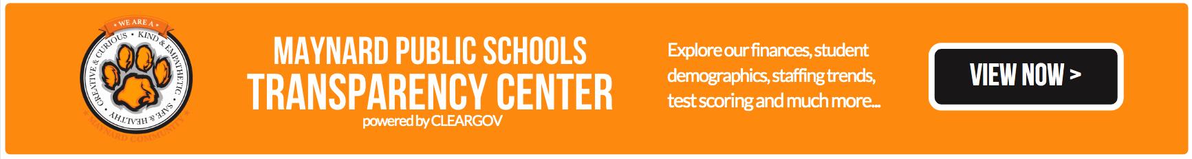 MAYNARD PUBLIC SCHOOLS - TRANSPARENCY CENTER