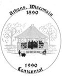 Athens Centennial Book 1990 logo
