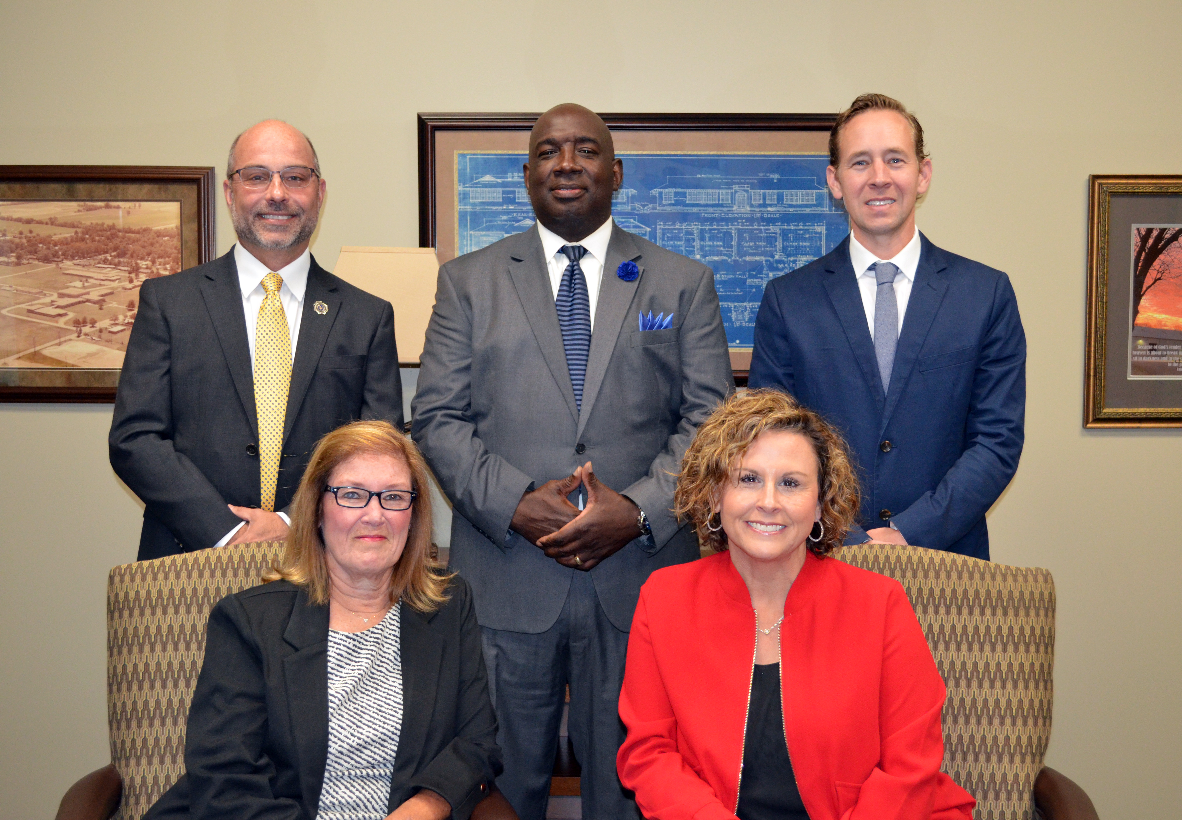 A photo of the Board Members.