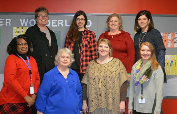A photo of the ACTIVITY AND INTERVENTION FACULTY staff.