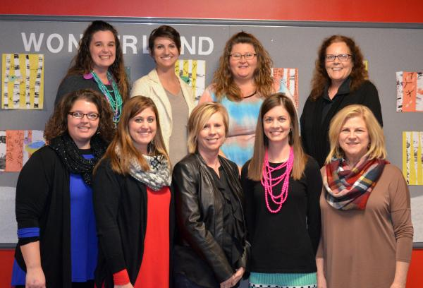 A photo of the FIRST GRADE FACULTY staff.