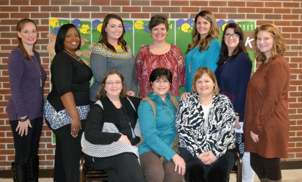 A photo of the KINDERGARTEN FACULTY staff.