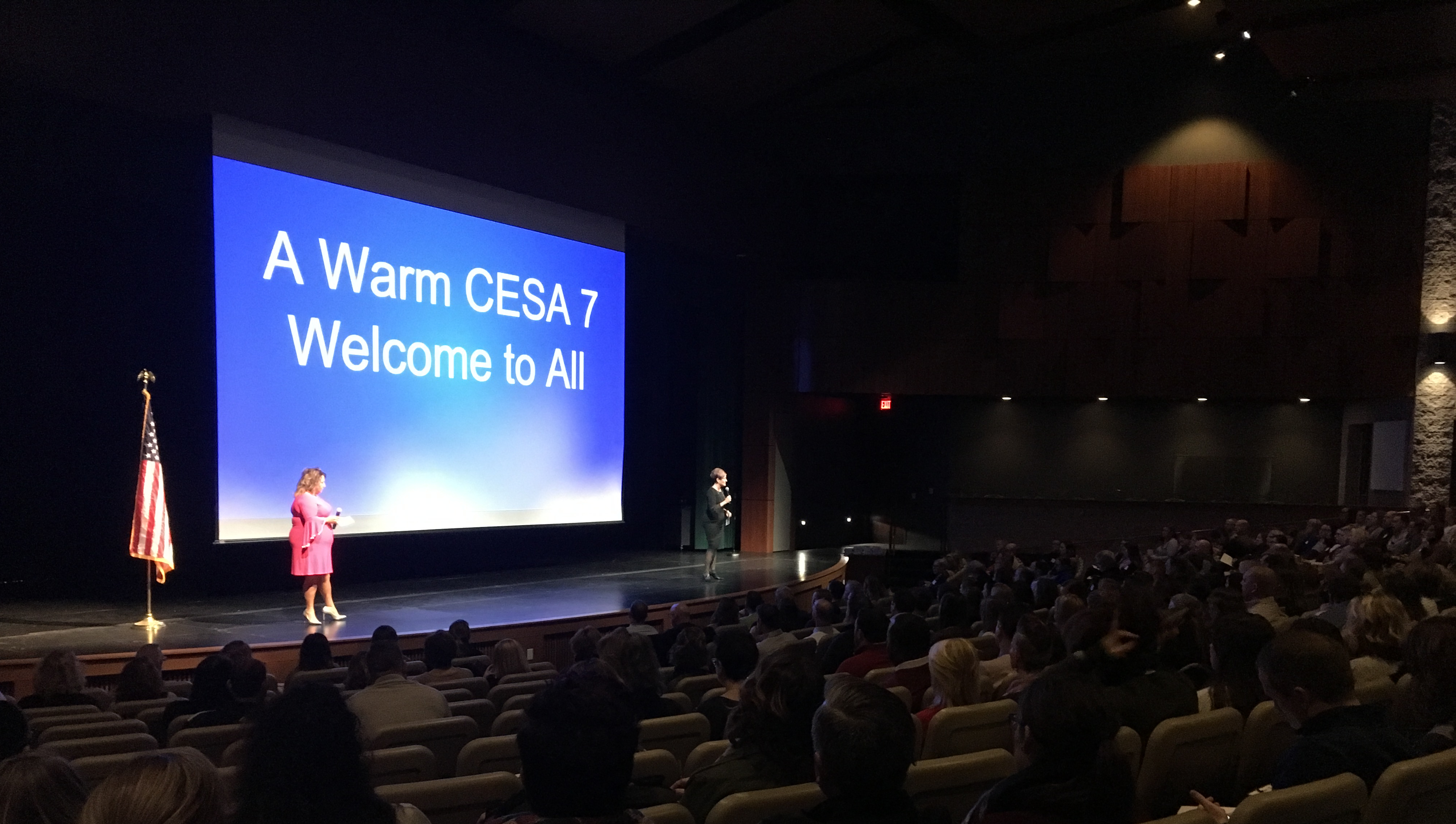 A Warm CESA 7 Welcome at the Dr. Anthony Muhammad Event!