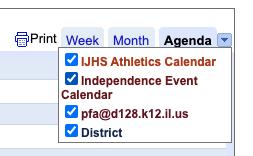 Multiple School Calendars