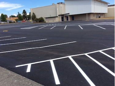 The Middle School Gym Parking Lot