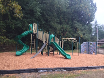 new playground at Point Roberts Primary School