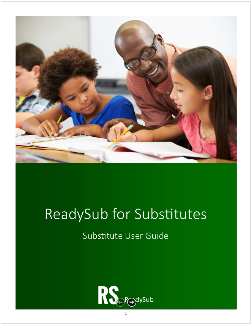 rs for substitutes