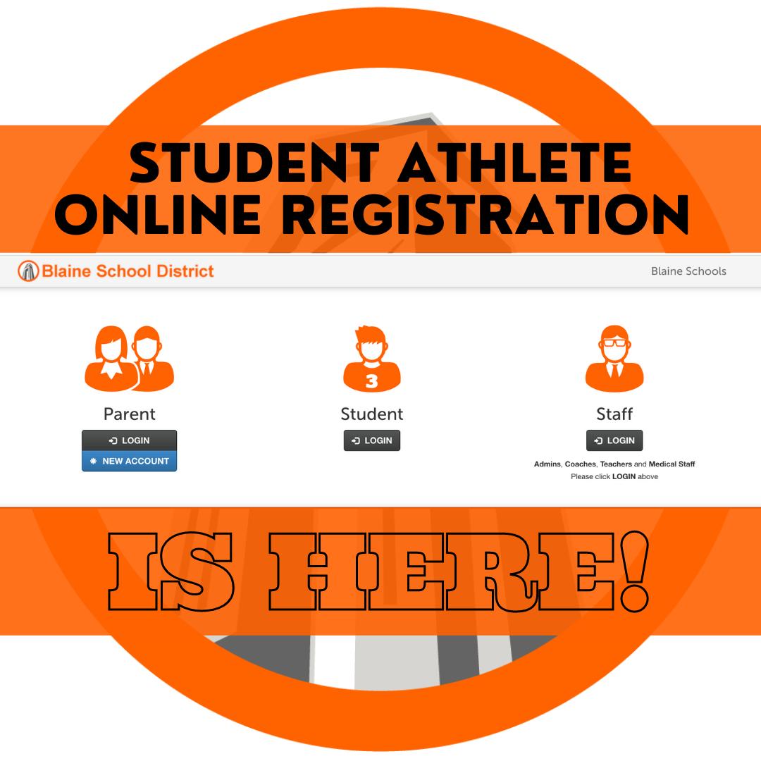 student athlete registration