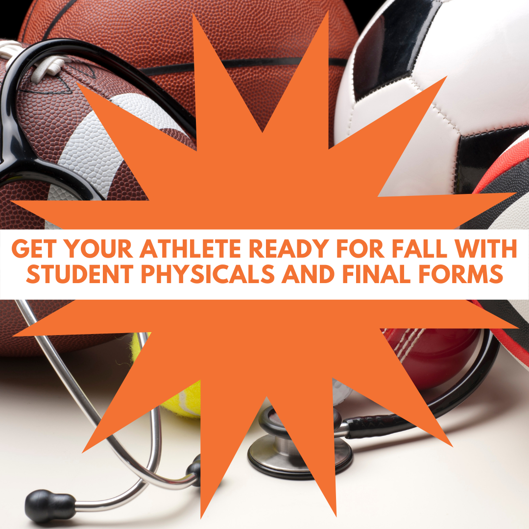 sports physicals and final forms reminder