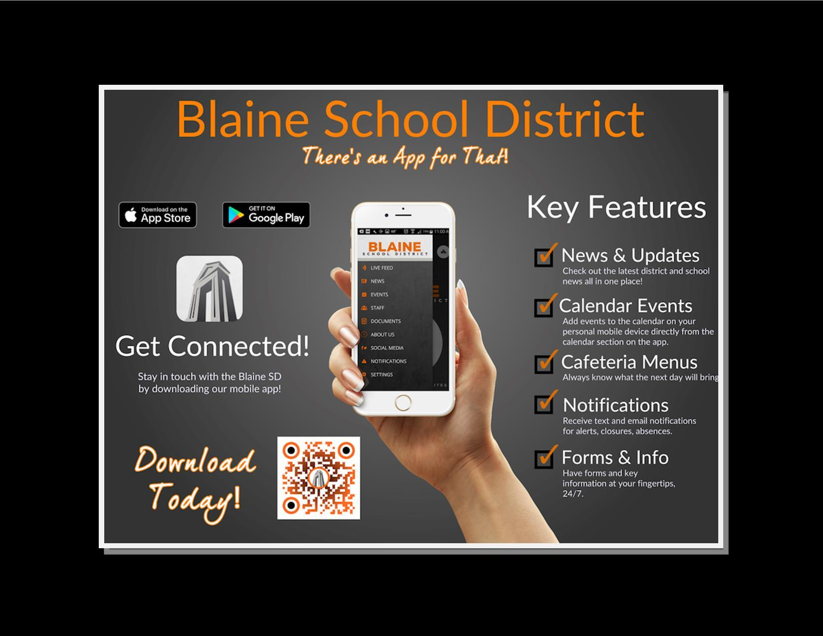 New Blaine SD Mobile App